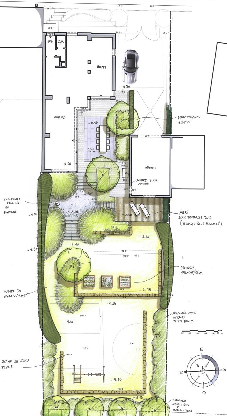 Architecture et aménagement de jardins Gottechain