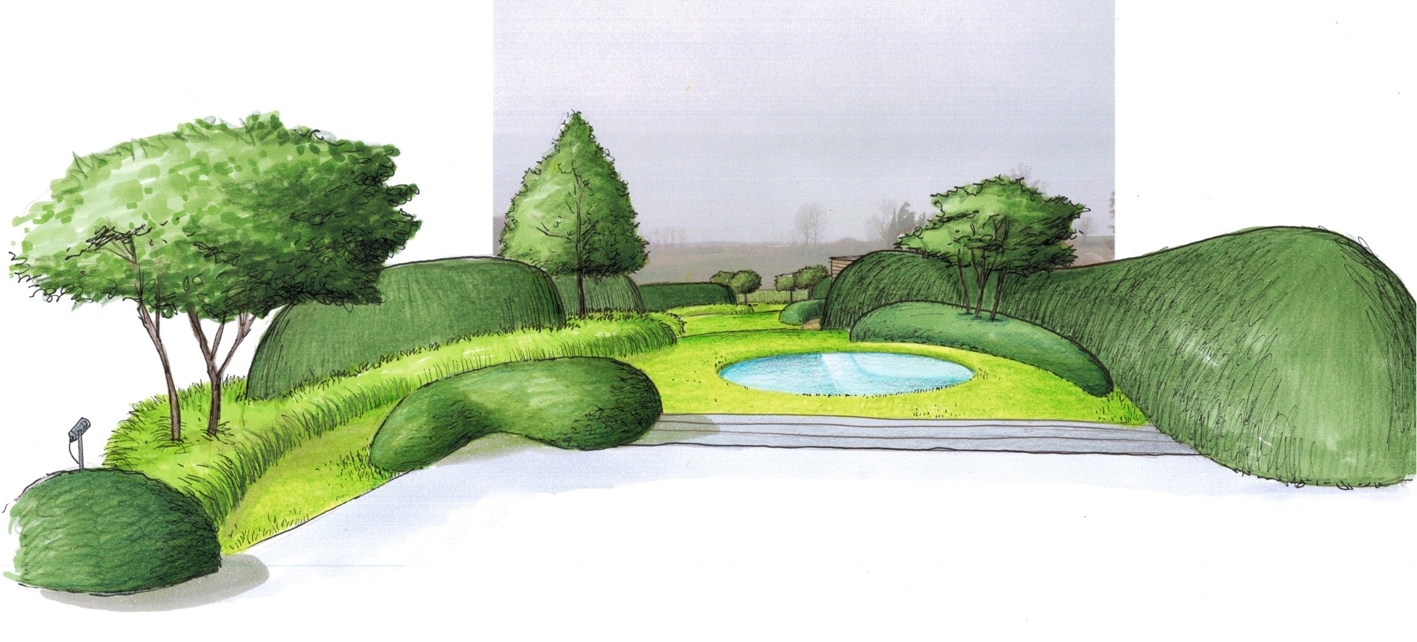 Architecture et aménagement de jardins Haut-Ittre
