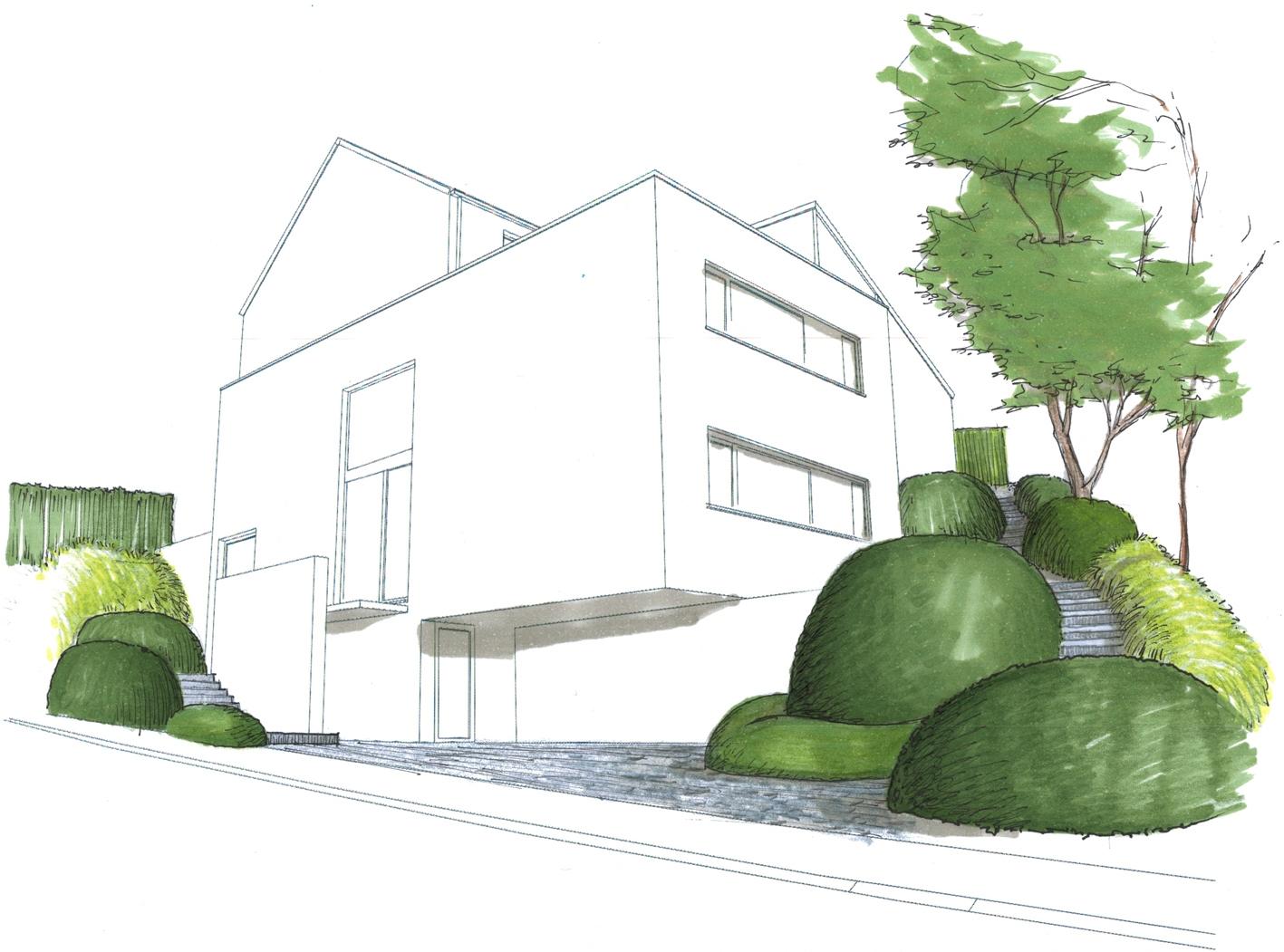 Architecture et aménagement de jardins Ittre