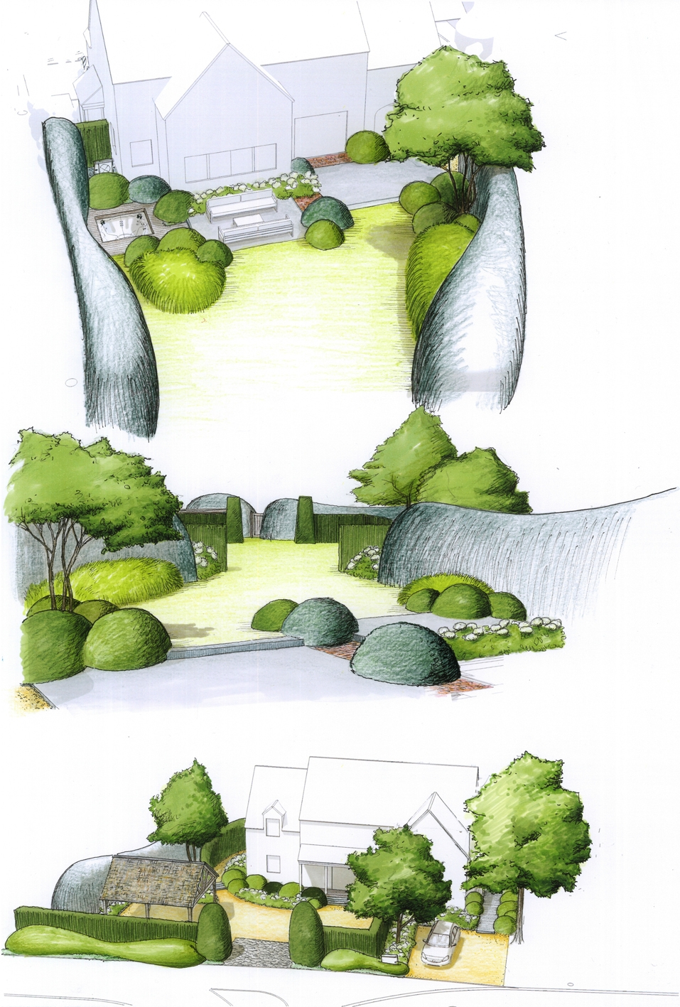 Architecture et aménagement de jardins Lasne