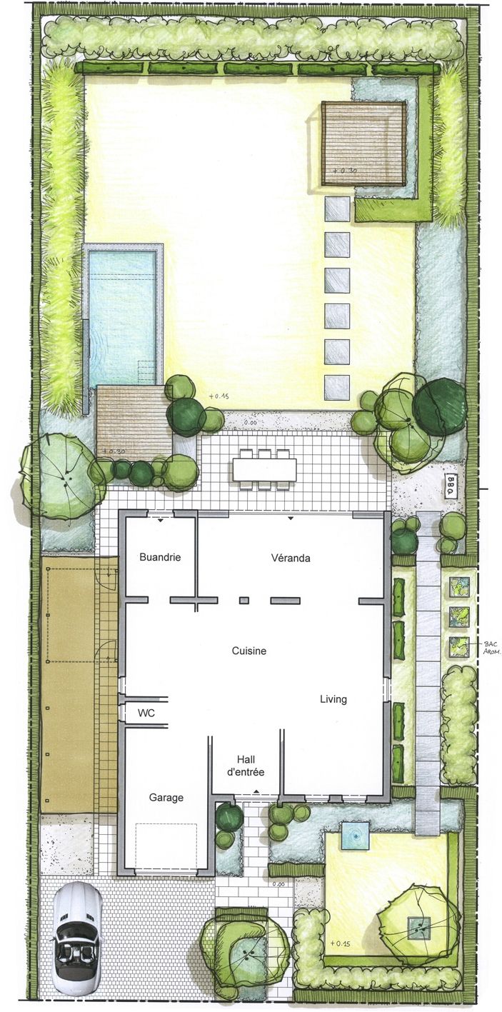 Architecture et aménagement de jardins Mons