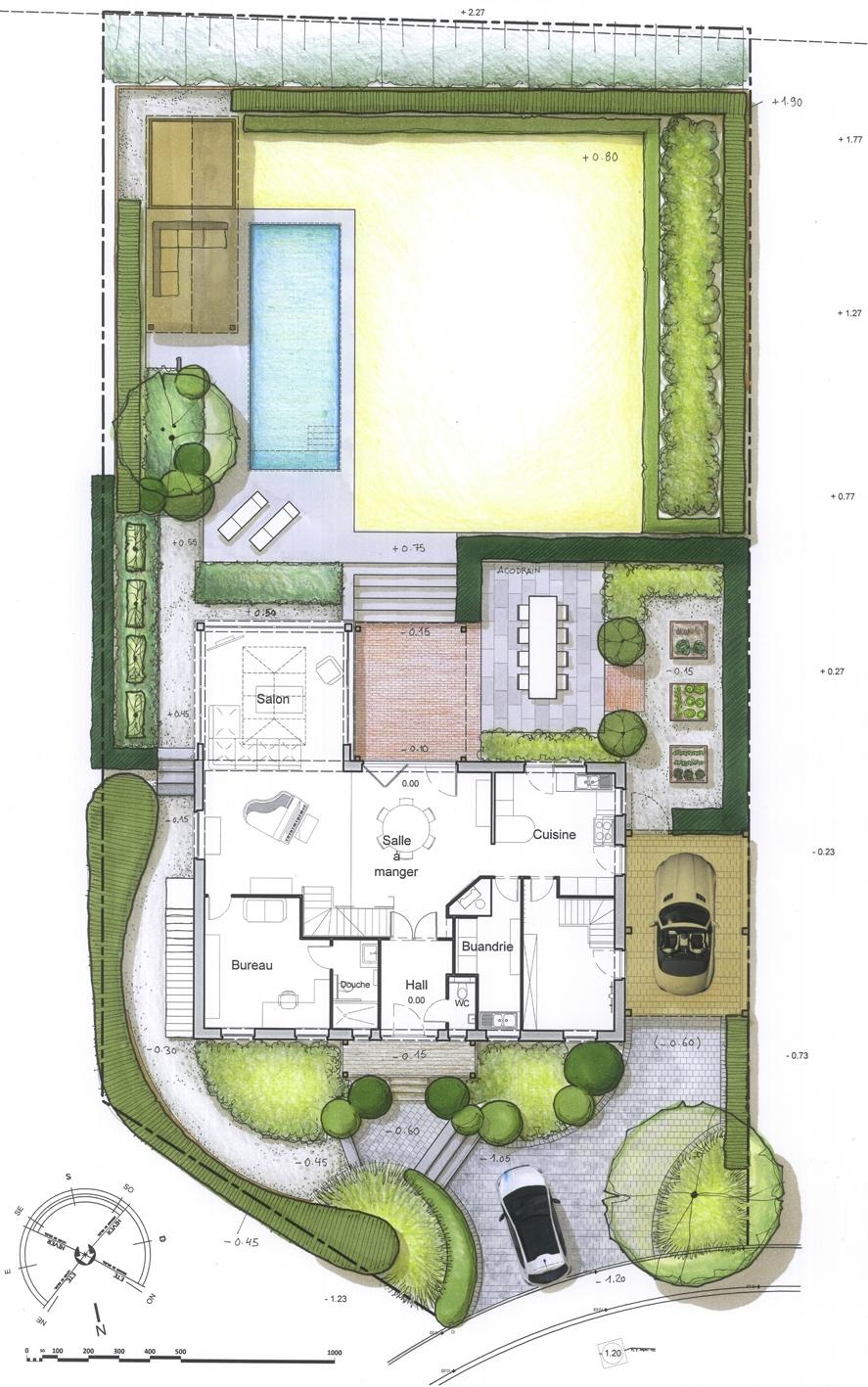 Architecture et aménagement de jardins Ottignies