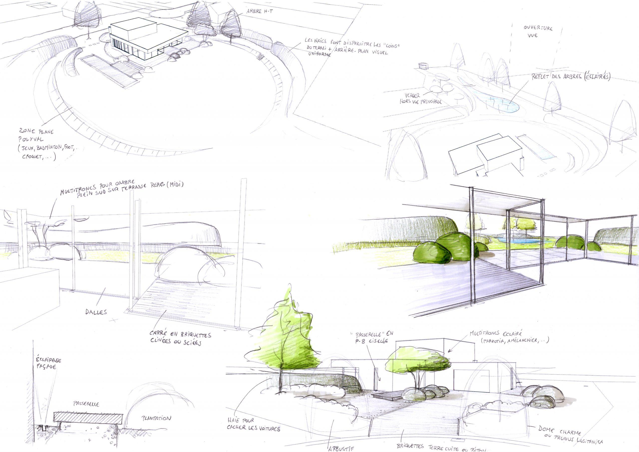 Architecture et aménagement de jardins Rebecq