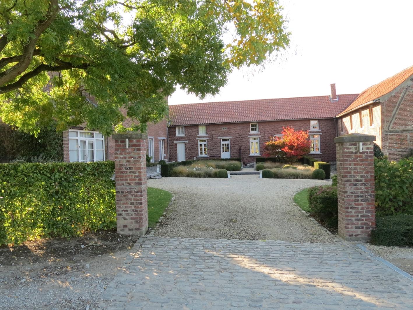 Cour de ferme jardin à Ittre